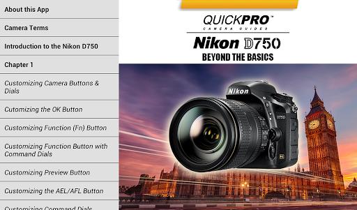 【免費攝影App】Nikon D750 Beyond by QuickPro-APP點子