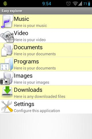 Easy File Manager PRO- screenshot