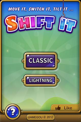 Shift It - screenshot