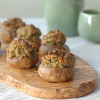 Clam-stuffed Mushrooms