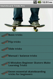 Skateboard Tricks - screenshot thumbnail