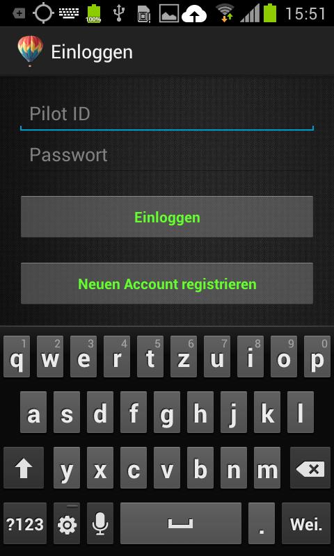 BalloonMap Pilot - screenshot