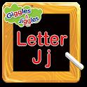 Letter J for LKG Kids Practice