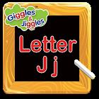 Letter J for LKG Kids Practice icon