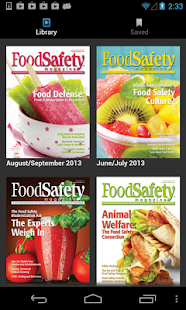 Food Safety Magazine - screenshot thumbnail
