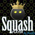 Squash Player Licence logo