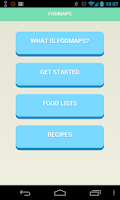 Screenshot of FODMAP - low fodmap ibs diet