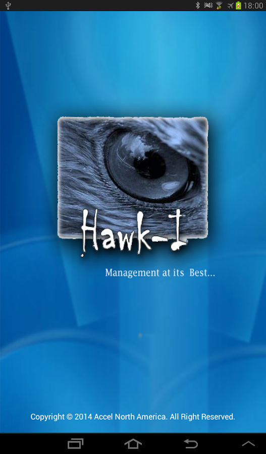 Hawk-I Manager- screenshot