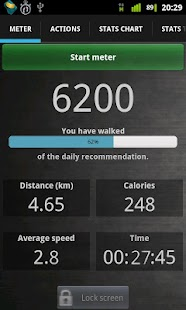 Walk Tracker- screenshot thumbnail