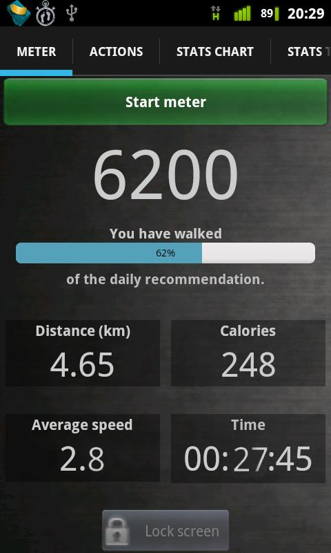 Walk Tracker- screenshot