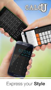 CALCU™ Stylish Calculator Free - screenshot thumbnail