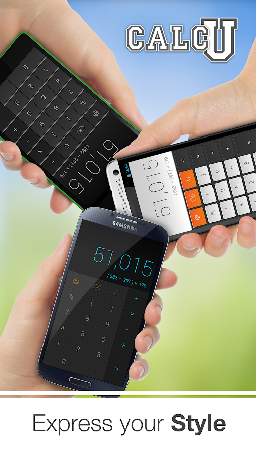 CALCU™ Stylish Calculator Free - screenshot