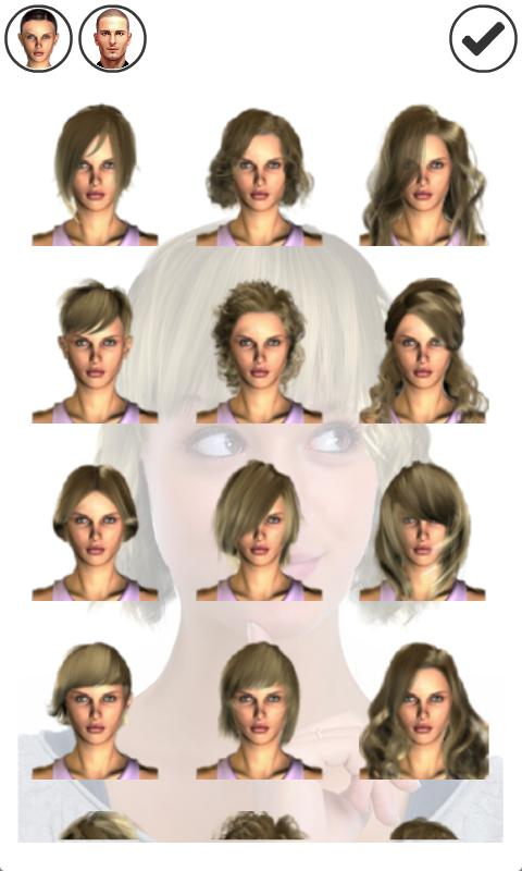 Terrific Magic Mirror Hair Styler Android Apps On Google Play Short Hairstyles Gunalazisus