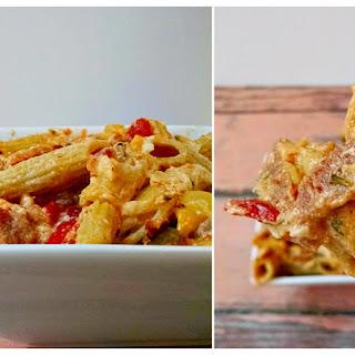 Ham & Veggie Noodle Casserole