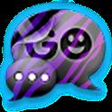 GO SMS THEME ColorfulZebra logo