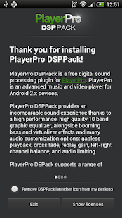 PlayerPro DSP pack - screenshot thumbnail