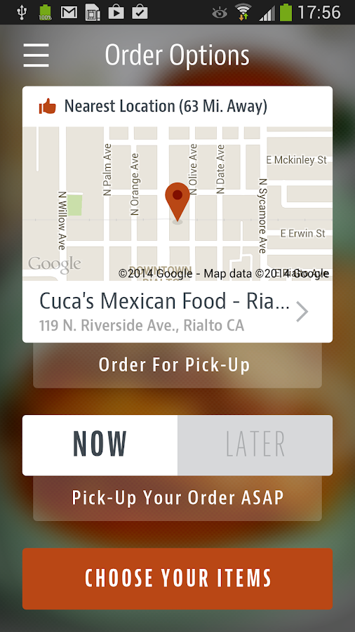 Cuca's Mexican Food- screenshot