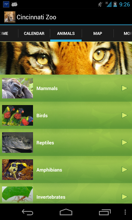 Cincinnati Zoo- screenshot