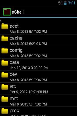 aShell - screenshot
