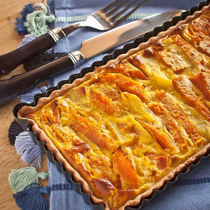 Pumpkin and Potato Spiced Tart