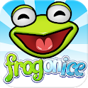Frog on Ice – a chilly tongue-slinging side scroller's adventure