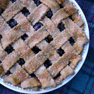 Deep-Filled Cherry Pie with a Chocolate Shortcrust Lattice Top Recipe
