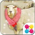 Snowy Sheep for[+]HOME icon