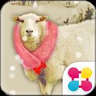 Cute Wallpaper Snowy Sheep icon