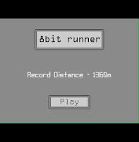 Screenshot of 8bit runner