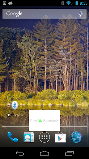 Bluetooth Shortcup App