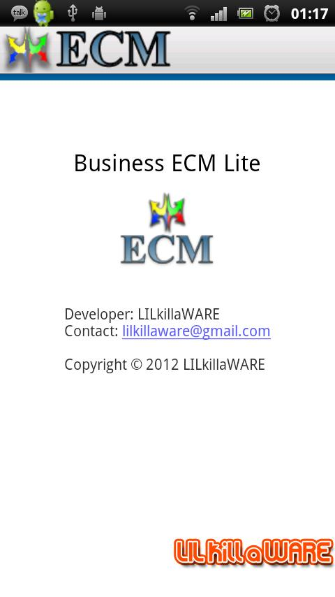 Business ECM Lite - screenshot