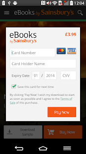 eBooks by Sainsbury's- screenshot thumbnail