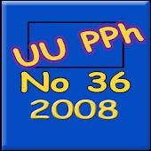 Undang Undang PPh No36 Th 2008