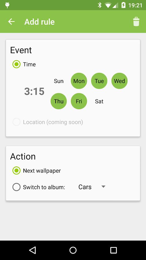 Wallpaper Changer - screenshot