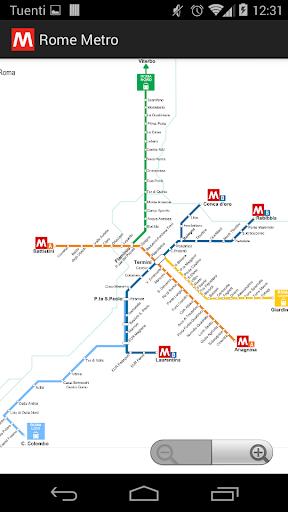 Rome Metro offline