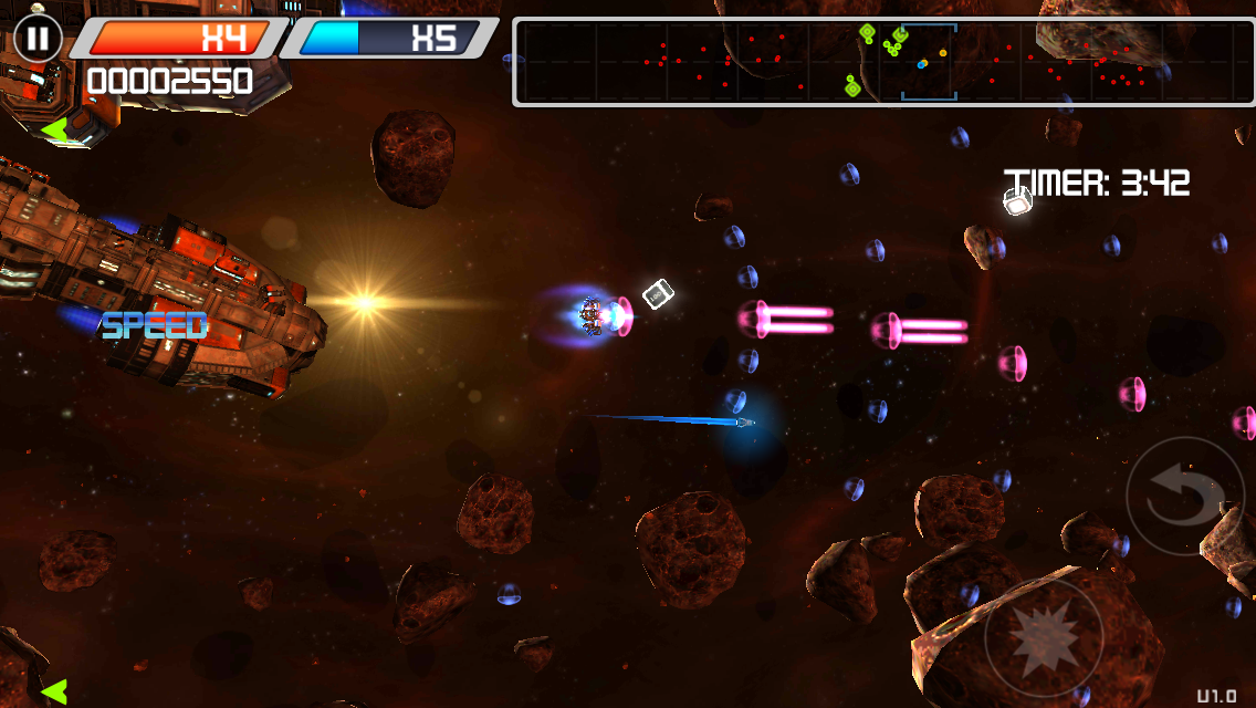 Syder Arcade HD- screenshot