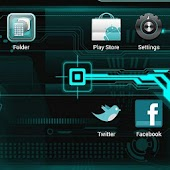 Next Launcher Cyanogen Theme