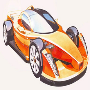How To Draw Super Cars - screenshot thumbnail