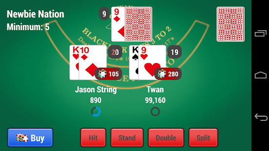 Blackjack app for blackberry