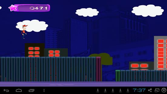 Survival Run Game- City Nights- screenshot thumbnail