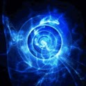 Energy Blue Light Power icon