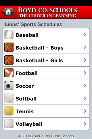 Boyd County Schools - screenshot