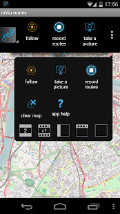 inViu routes GPS tracker OSM- screenshot thumbnail