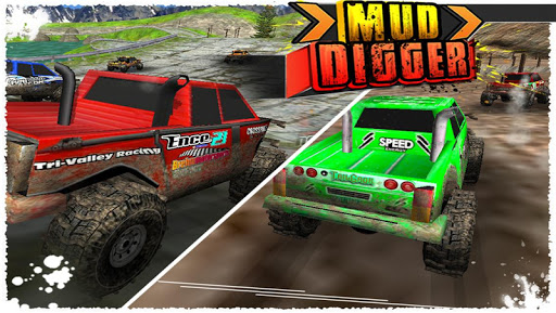 Mud Digger 3D Racing Game
