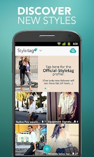 Styletag - Shopping Lookbook - screenshot thumbnail