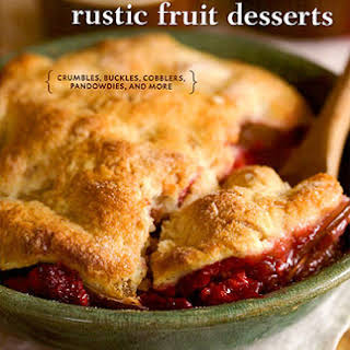 Gingered Pear and Raspberry Pandowdy.