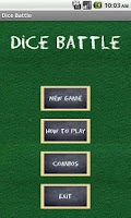 Screenshot of Dice Battle Lite