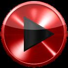 Poweramp skin 红色金属 icon