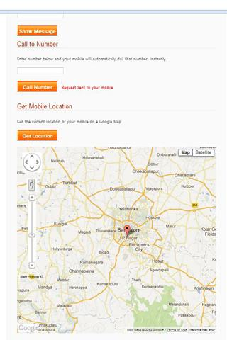 Track My Phone - screenshot