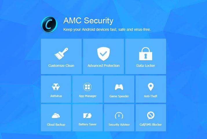 Screenshot 1 AMC Security-Optimierer, Sicher